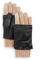 Echo Leather Glitten Tech Gloves - 100% Bloomingdale's Exclusive