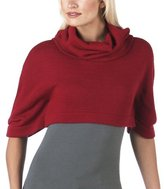Juniors' Mossimo Supply Co. Cropped Cowlneck Capelet - Rhumba Red