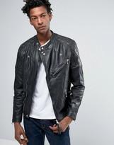 Allsaints Allsaints All Saints Leather Biker Jacket