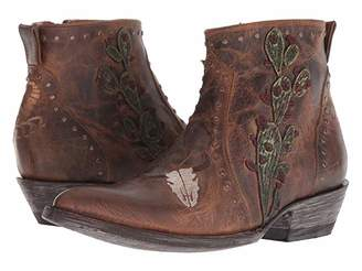 Old Gringo Skull Joplin (Saddle) Women's Boots