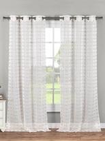 Kensie Dawsyn Grommet Window Panels (Set of 2)