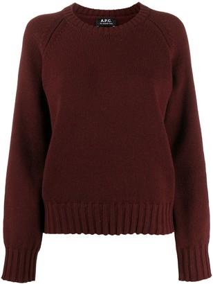 A.P.C. Fine Knit Wool Jumper