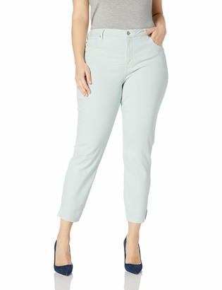 NYDJ Women's Size Plus AMI Skinny Ankle Jean