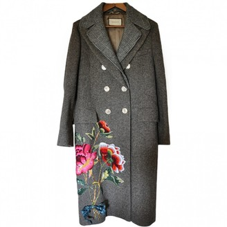 Gucci Brown Wool Coat for Women
