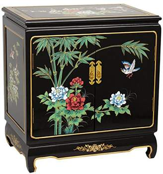 Oriental Furniture Lacquer End Table