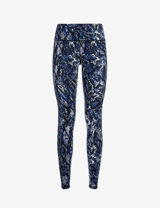 Sweaty Betty Power Workout graphic-print stretch-jersey leggings