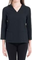 Max Studio Wool V-Neck Pullover