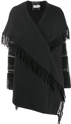 Moncler Fringed Oversize Jacket