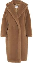 Max Mara Aurelia Oversized Camel Hair And Silk-blend Coat - Brown