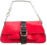 Christian Dior Jewel-Accented Shoulder Bag