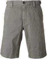 Eleventy shorts with button fastening rear pockets - men - Cotton/Linen/Flax/Spandex/Elastane - 31