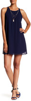 Amy Byer A. Byer Pleated Shift Dress