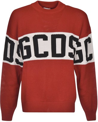 GCDS Ribbed Logo Sweater