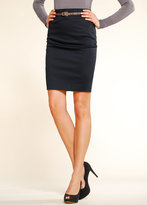 MANGO Slim-Fit Pencil Skirt