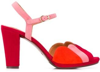 Chie Mihara Adita 100mm colour-block sandals