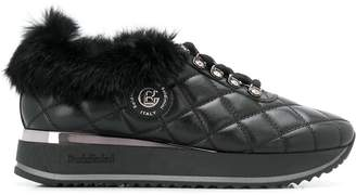 Baldinini quilted low top sneakers