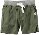 Carter's Baby Boy Pull-On Twill Shorts