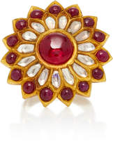 Amrapali One-Of-A-Kind Diamond And Ruby Cocktail Ring
