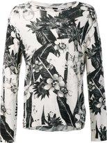 OSKLEN Flower Shop jumper - men - Cotton - P