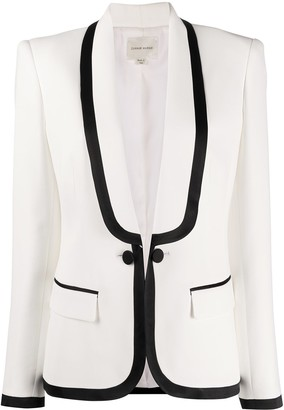 ZUHAIR MURAD Fitted Single Breasted Blazer
