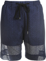 Markus Lupfer Broderie Anglaise Shorts