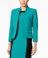Nine West Stretch-Crepe Jacket