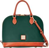 Dooney & Bourke Hunter Zip Zip Leather Satchel