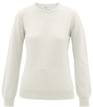 Johnstons of Elgin Johnston's Of Elgin - Round-neck Cashmere Sweater - Womens - Grey