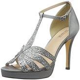 Menbur Women's Noguera Open Toe Sandals Grey Size: 6.5