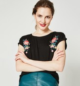 Promod Embroidered top