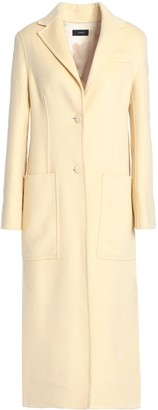 Joseph Marvil Wool And Silk-blend Felt Coat