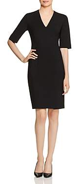 BOSS Daleno Fundamental Elbow-Sleeve Dress