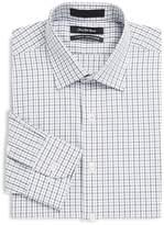 Saks Fifth Avenue Men's Plaid Classic-Fit Cotton Dress Shirt