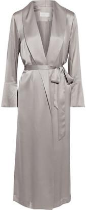 Mason by Michelle Mason Silk-charmeuse Kimono