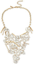 INC International Concepts M. Haskell for Gold-Tone Crystal Cluster Statement Necklace, Only at Macy's