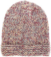 Roberto Collina folded knitted beanie