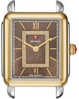 Michele 'Deco II' Diamond Dial Watch Case, 26mm x 27 1/2mm