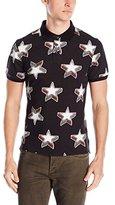 Just Cavalli Men's Stars Polo Shirt