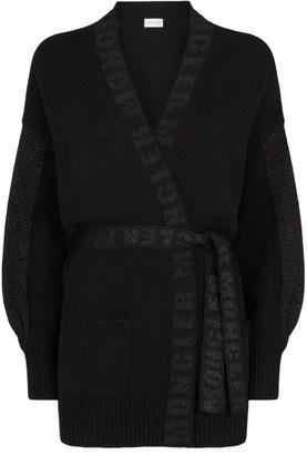 Moncler Wool-Cashmere Cardigan