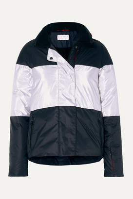 Erin Snow Lola Striped Ski Jacket - Navy