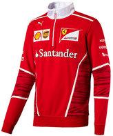 Ferrari Men's Team Half Zip Fleece Sweater
