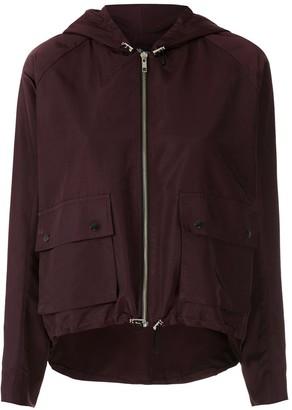 Atlanta hooded zipped jacket
