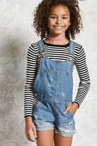 Forever 21 FOREVER 21+ Girls Overall Shorts (Kids)