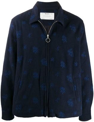 Reception Embroidered Zip-Through Fleece
