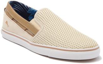 Tommy Bahama Jaali Perforated Slip-On Sneaker