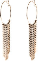 Oasis Tassle Hoop Earrings