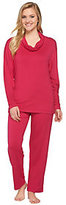 Carole Hochman French Terry 2 Piece Pajama Set