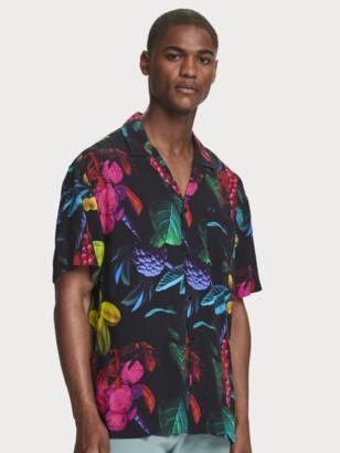 Scotch & Soda Digital Print Shirt Hawaii fit | Men