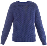 Closed Honeycomb-knit sweater
