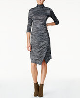 Kensie Space-Dye Envelope-Hem Dress